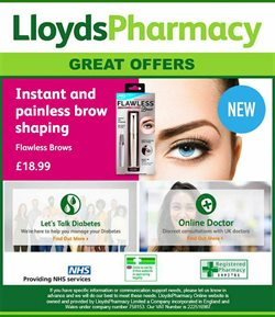 Pharmacy, Perfume & Beauty offers in the Lloyds Pharmacy catalogue in Southwark