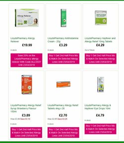 Gel offers in the Lloyds Pharmacy catalogue in Stoke-on-Trent