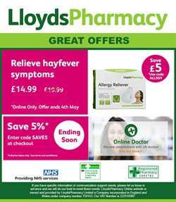 Pharmacy, Perfume & Beauty offers in the Lloyds Pharmacy catalogue in Aberdeen