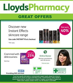 Lloyds Pharmacy offers in the Birmingham catalogue