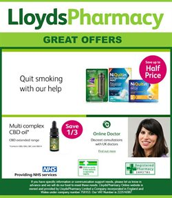 Pharmacy, Perfume & Beauty offers in the Lloyds Pharmacy catalogue in Warrington