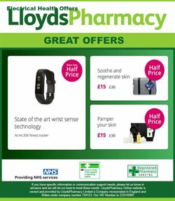 Pharmacy, Perfume & Beauty offers in the Lloyds Pharmacy catalogue in Middlesbrough