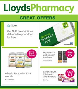 Pharmacy, Perfume & Beauty offers in the Lloyds Pharmacy catalogue in Birkenhead