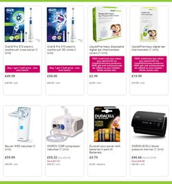 Offers of Electric toothbrush in Lloyds Pharmacy