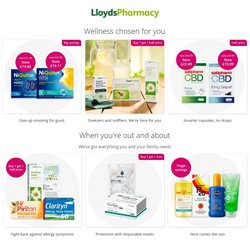 Pharmacy, Perfume & Beauty offers in the Lloyds Pharmacy catalogue ( Published today)