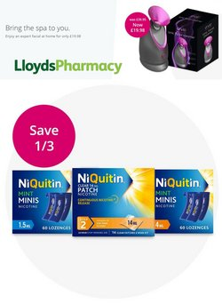 Lloyds Pharmacy offers in the Lloyds Pharmacy catalogue ( 4 days left)