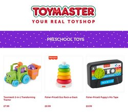 Toymaster catalogue ( 21 days left )