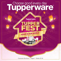 Tupperware offers in the Tupperware catalogue ( Published today)
