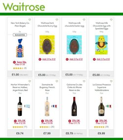 Eggs offers in the Waitrose catalogue in London