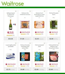 Champagne offers in the Waitrose catalogue in York
