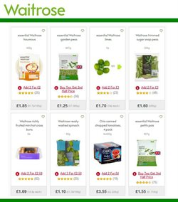 Gel offers in the Waitrose catalogue in London