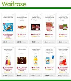 Water offers in the Waitrose catalogue in Stoke-on-Trent