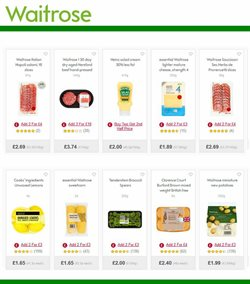 Cheese offers in the Waitrose catalogue in Tower Hamlets