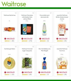 Milk offers in the Waitrose catalogue in Tower Hamlets
