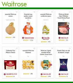 Cheese offers in the Waitrose catalogue in Runcorn