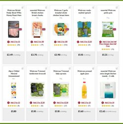 Juice offers in the Waitrose catalogue in London