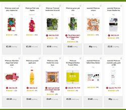Apples offers in the Waitrose catalogue in Widnes