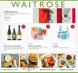 Waitrose offers in the Barking-Dagenham catalogue