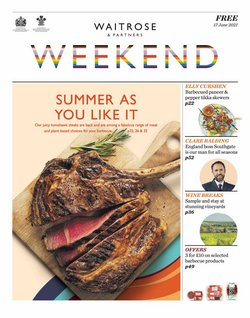 Supermarkets offers in the Waitrose catalogue ( Published today)