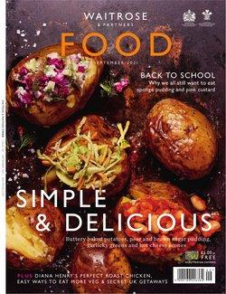 Waitrose offers in the Waitrose catalogue ( 9 days left)