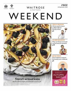 Supermarkets offers in the Waitrose catalogue ( Expires tomorrow)