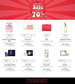 Pharmacy, Perfume & Beauty offers in the The Perfume Shop catalogue ( Published today)