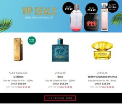 The Perfume Shop offers in the The Perfume Shop catalogue ( 3 days left)