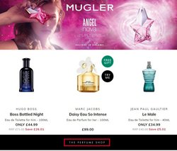 HUGO BOSS offers in the The Perfume Shop catalogue ( 3 days left)