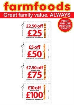 Farmfoods offers in the Bridgend catalogue