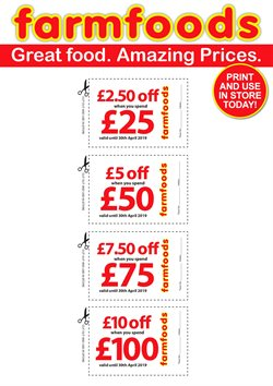 Farmfoods offers in the London catalogue
