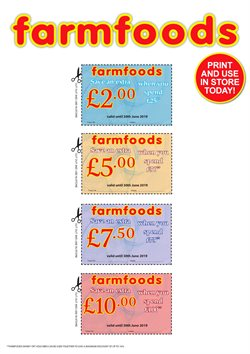 Farmfoods offers in the Liverpool catalogue