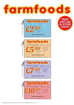 Farmfoods offers in the Birmingham catalogue
