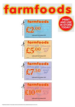 Farmfoods offers in the Sheffield catalogue