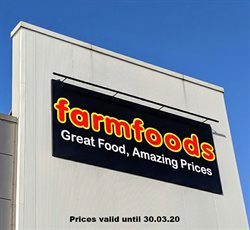 Farmfoods catalogue ( Expires today )