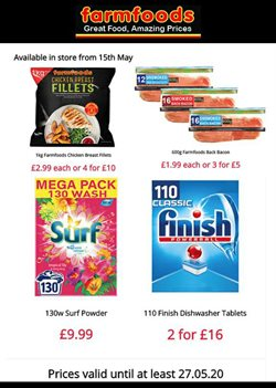 Farmfoods catalogue ( Expires tomorrow )