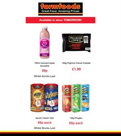Farmfoods catalogue ( 2 days left )