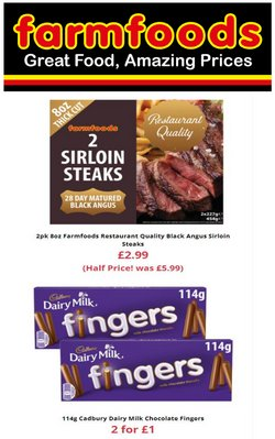 Farmfoods offers in the Farmfoods catalogue ( 2 days left)