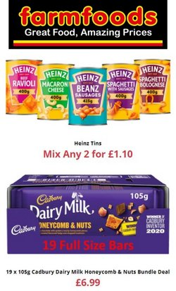 Farmfoods offers in the Farmfoods catalogue ( Expires tomorrow)