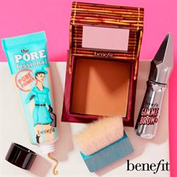 Benefit Cosmetics catalogue ( More than a month )