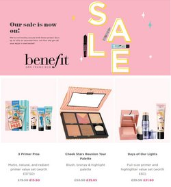 Benefit Cosmetics catalogue ( Expires tomorrow )