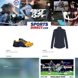Sports Direct offers in the Sports Direct catalogue ( Expires tomorrow)