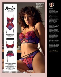 Lingerie offers in the Ann Summers catalogue in London