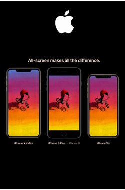 IPhone 8 offers in the Apple catalogue in London