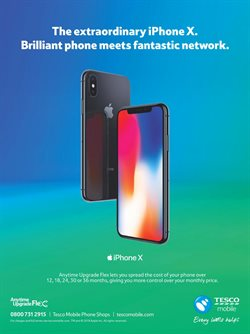 IPhone offers in the Tesco catalogue in London
