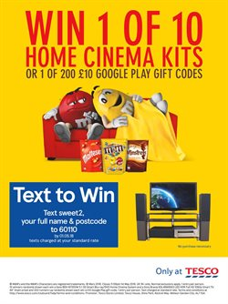 TV offers in the Tesco catalogue in London
