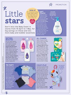 Baby offers in the Tesco catalogue in London