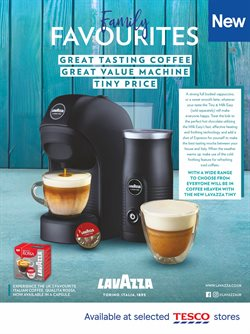 Coffee offers in the Tesco catalogue in London