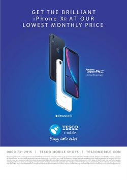 IPhone offers in the Tesco catalogue in Cheltenham