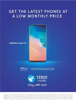 Phones offers in the Tesco catalogue in Liverpool