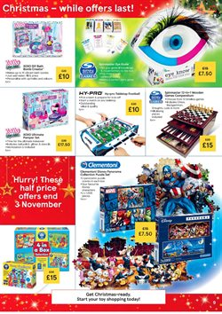 Offers of Games in Tesco